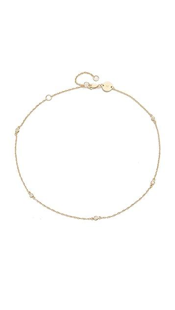 Jennifer Zeuner Jewelry Luelle Diamond Choker Necklace