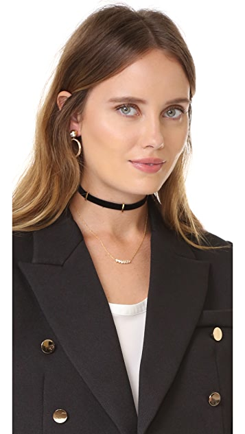 Jennifer Zeuner Jewelry Gizelle Choker Necklace