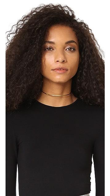 Jennifer Zeuner Jewelry 2MM Kerry Choker Necklace