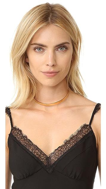 Jennifer Zeuner Jewelry 8MM Kerry Choker Necklace