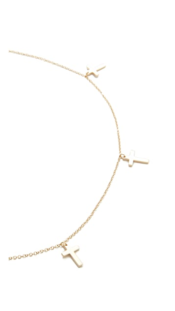 Jennifer Zeuner Jewelry Theresa Choker Necklace