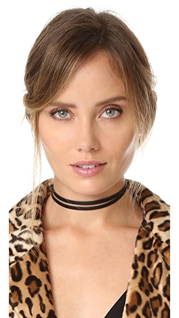 Jennifer Zeuner Jewelry Ivy Jax Wrap Choker Necklace