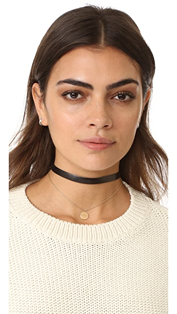 Jennifer Zeuner Jewelry Ivy Eugenia Choker Necklace