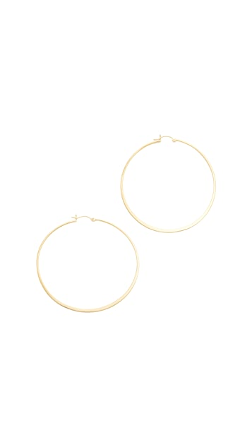 Jennifer Zeuner Jewelry Olivia Hoop Earrings