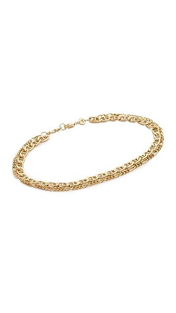 Jennifer Zeuner Jewelry Adina Chain Anklet