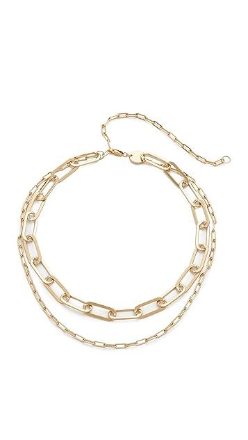 Jennifer Zeuner Jewelry Mayfair Double Choker Necklace