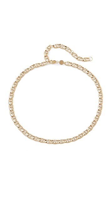 Jennifer Zeuner Jewelry Jayne Chain Choker Necklace