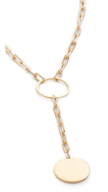 Jennifer Zeuner Jewelry Marla Lariat Necklace