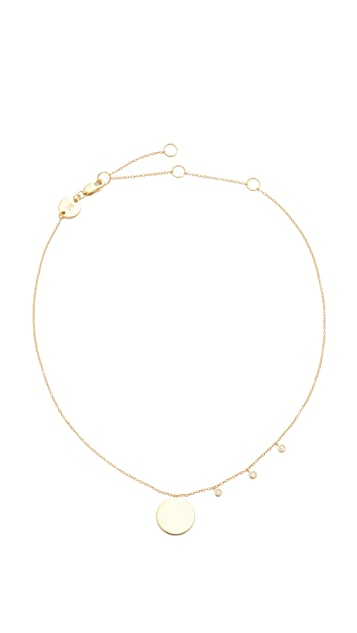 Jennifer Zeuner Jewelry Lou Disc Choker Necklace