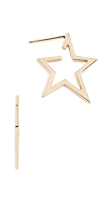 Jennifer Zeuner Jewelry Sade Small Earrings