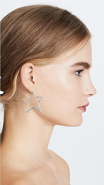 Jennifer Zeuner Jewelry Sade Large Earrings