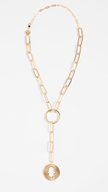 Jennifer Zeuner Jewelry Nico Lariat Necklace