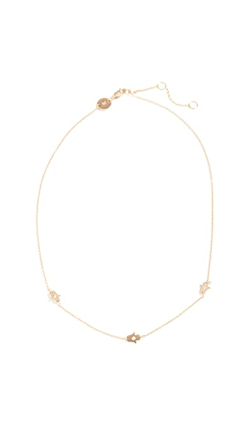 Jennifer Zeuner Jewelry Catalina Diamond Necklace