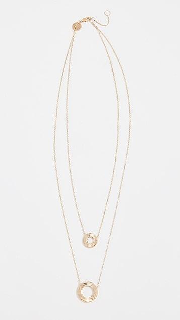 Jennifer Zeuner Jewelry Iris Reed Necklace