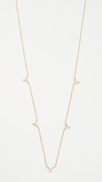 Jennifer Zeuner Jewelry Luz Mini Necklace