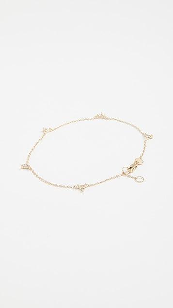 Jennifer Zeuner Jewelry Luz Anklet