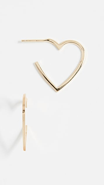 Jennifer Zeuner Jewelry Larissa Mini Hoop Earrings