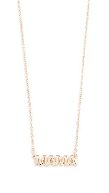 Jennifer Zeuner Jewelry Mercer Mama Necklace