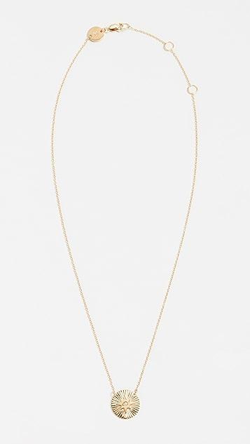 Jennifer Zeuner Jewelry Iris Mini Gia Necklace