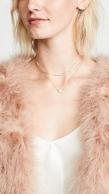 Jennifer Zeuner Jewelry Nadine 珐琅项链