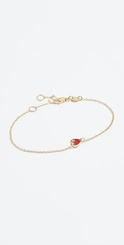Jennifer Zeuner Jewelry - Mia 迷你心形手链