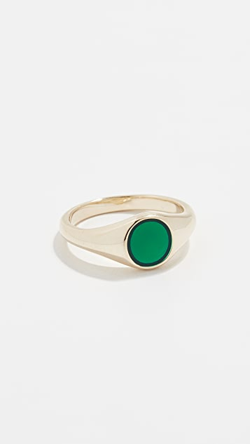 Jennifer Zeuner Jewelry Cameron Enamel Ring