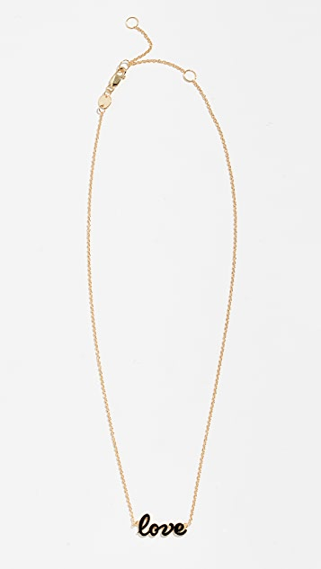 Jennifer Zeuner Jewelry Addison Mini Enamel Necklace