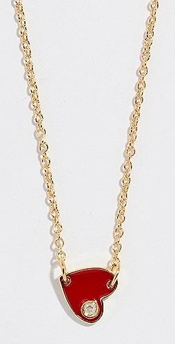 Jennifer Zeuner Jewelry - Mia Mini Enamel Necklace