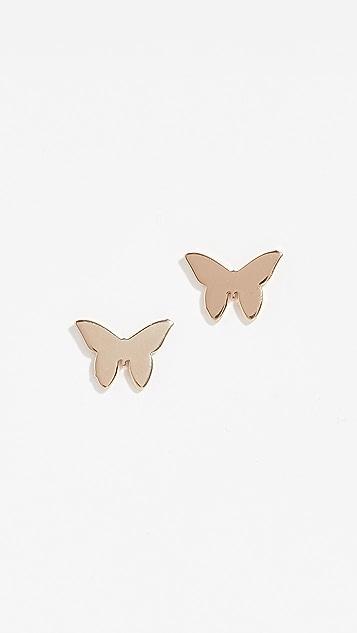 Jennifer Zeuner Jewelry Миниатюрные серьги Mariah
