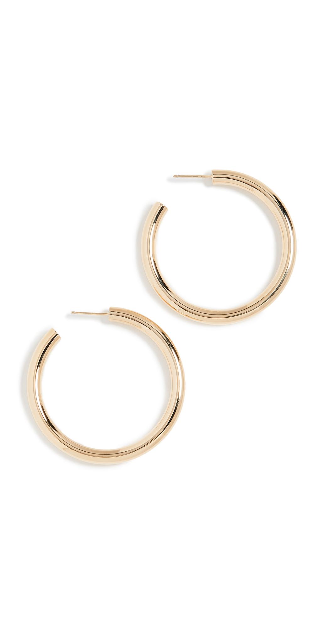 Lou Medium Hoop Earrings
