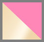 Yellow Gold/Neon Pink Enamel