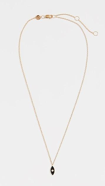 Jennifer Zeuner Jewelry Эмалированное колье Nazar