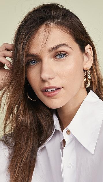 Jennifer Zeuner Jewelry Серьги-кольца Portia
