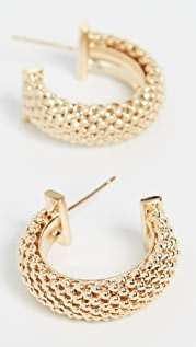 Jennifer Zeuner Jewelry Lucia 圈式耳环