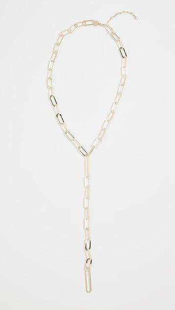 Jennifer Zeuner Jewelry Maurice 套索项链