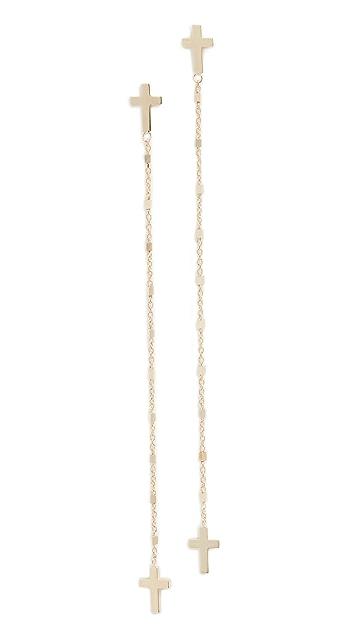Jennifer Zeuner Jewelry Tiegen Earrings