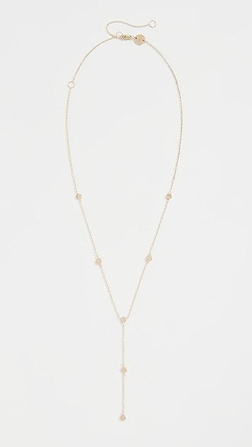 Jennifer Zeuner Jewelry Aria Lariat Necklace