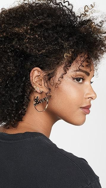 Jennifer Zeuner Jewelry Blair 圈式耳环