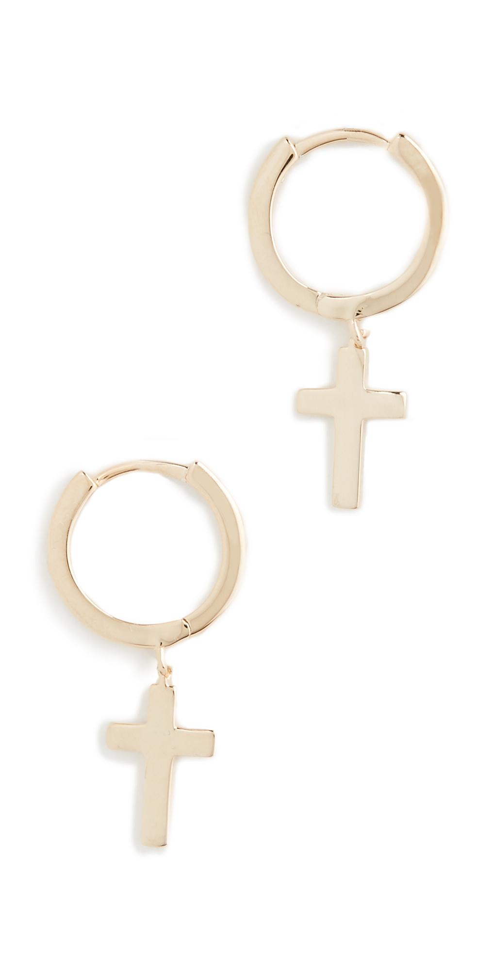 Theresa Huggie Earrings