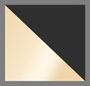 Black Enamel/Gold Plated
