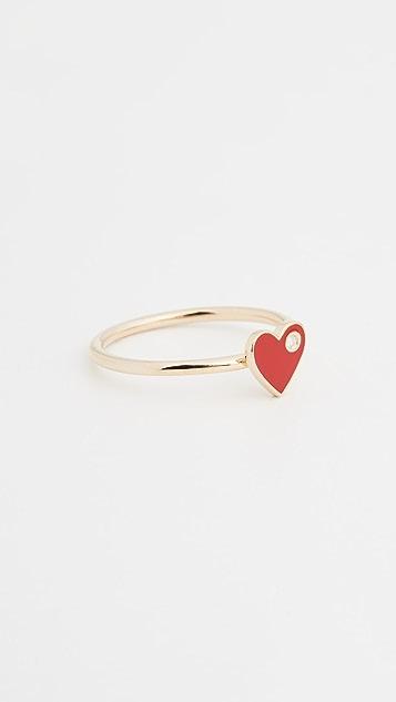 Jennifer Zeuner Jewelry Mia 珐琅戒指