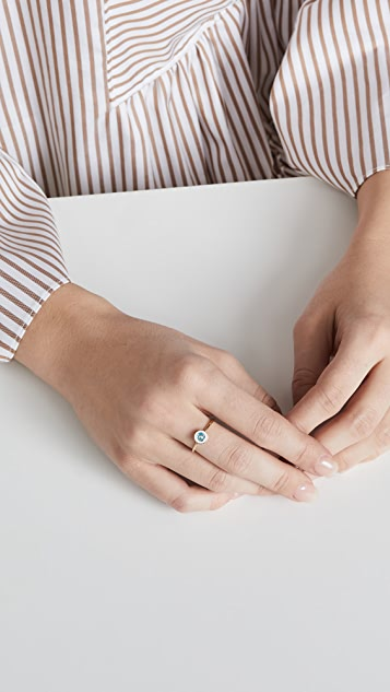 Jennifer Zeuner Jewelry Kiki Enamel Ring