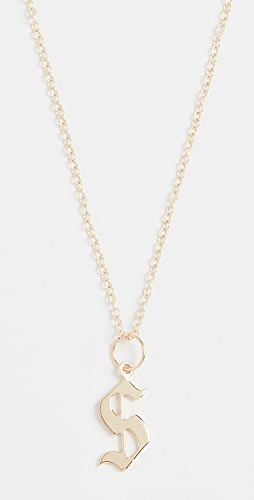 Jennifer Zeuner Jewelry - Emmanuelle Initial Necklace