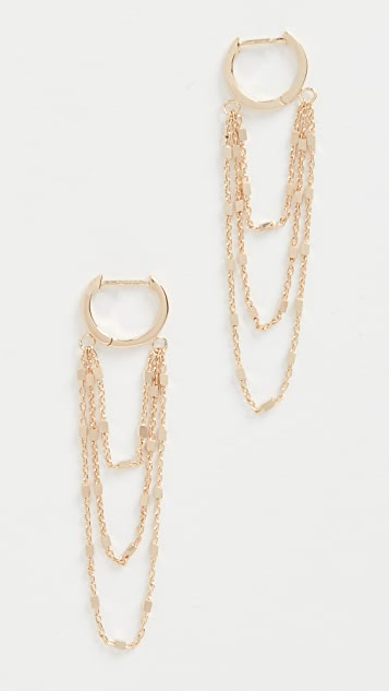 Jennifer Zeuner Jewelry Elia Earrings