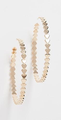 Jennifer Zeuner Jewelry - Drea 圈式耳环
