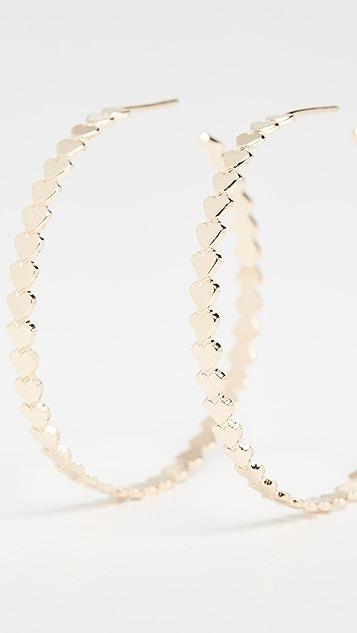 Jennifer Zeuner Jewelry Drea Hoop Earrings