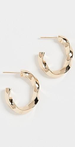 Jennifer Zeuner Jewelry - Emalia 圈式耳环