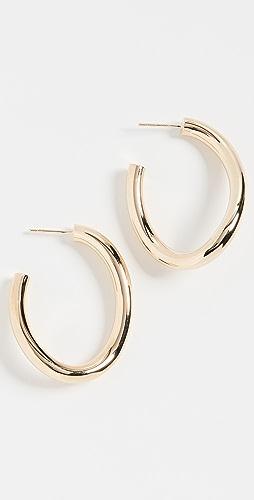 Jennifer Zeuner Jewelry - Edna 圈式耳环