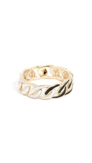 Jennifer Zeuner Jewelry Chace 珐琅戒指