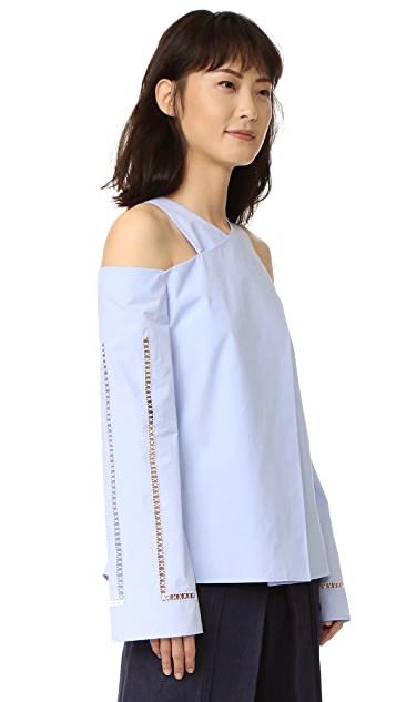 ZEUS+DIONE Anemone Long Sleeve Blouse